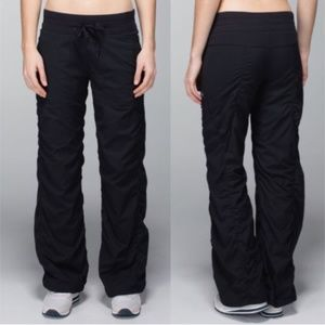 Lululemon Dance Studio Lined Pants Black 10 Gym